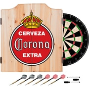 Corona Dart Cabinet Set with Darts and Board - Vintage (190836246519)
