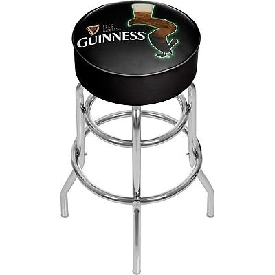 Guinness Padded Swivel Bar Stool - Feathering (190836334957)