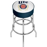 Miller Lite Padded Swivel Bar Stool - Retro (190836399192)