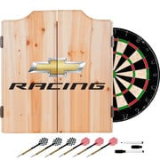 Chevrolet Dart Cabinet Set with Darts and Board - Chevy Racing (190836246724)