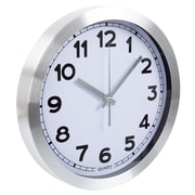 Everyday Home 12 Inch Brushed Aluminum Wall Clock (886511925670)