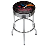 Guinness Chrome Ribbed Bar Stool - Toucan (190836334988)