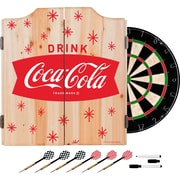 Coca Cola Dart Cabinet Set with Darts and Board - Star (190836399512)