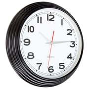 Everyday Home 15 Inch Retro Style Wall Clock - Black (886511926028)
