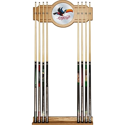 Guinness Stained Wood Cue Rack with Mirror - Toucan (190836335251)