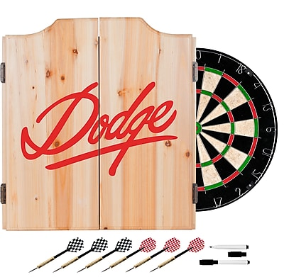 Dodge Dart Cabinet Set with Darts and Board - Signature (886511980808)