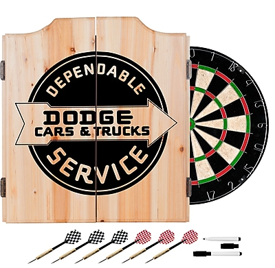 Dodge Dart Cabinet Set with Darts and Board - Dodge Service (886511980792)