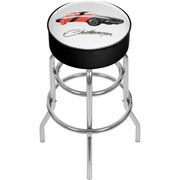 Dodge Padded Swivel Bar Stool - Challenger Stripes 2 (886511980471)