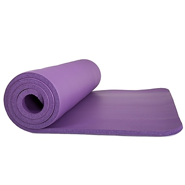 Wakeman Outdoors Non-Slip Luxury Foam Camping Sleep Mat - PURPLE (886511985650)