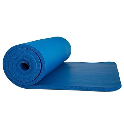 Wakeman Outdoors Non-Slip Luxury Foam Camping Sleep Mat - DARK BLUE (886511985636)