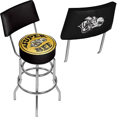 Dodge Bar Swivel Bar Stool with Back - Super Bee (886511980488)
