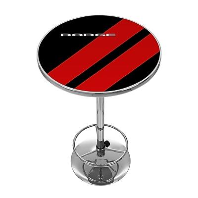 Dodge Chrome Pub Table - Big Stripe (886511980815)
