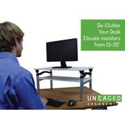"Uncaged Ergonomics LIFT Adjustable Monitor Stand (13-20"")"