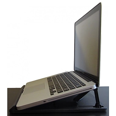 uncaged ergonomics swivel laptop stand black sls