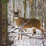 Turner Licensing Realtree Hunted Game 2017 12X12 Wall Calendar (17998012065)