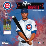Turner Licensing Chicago Cubs Kris Bryant 2017 12X12 Player Wall Calendar (17998012067)