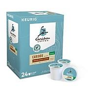 Caribou Blend Decaf Coffee, Keurig K-Cup Pods, Medium Roast, 24/Box (6995)