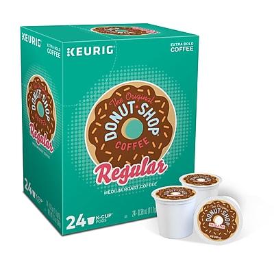 Donut Shop® Coffee, Keurig® K-Cup® Pods, Medium Roast, 24/Box (DIE60052101)