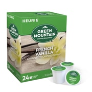 Green Mountain Coffee Roasters French Vanilla Coffee, Keurig® K-Cup® Pods, Light Roast, 24/Box (6732)