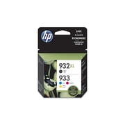 HP 932XL/933 Black/Color Ink Cartridges, High Yield/Standard, 4/Pack (N9H62FN#140)