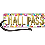 Teacher Created Resources Confetti Magnetic Hall Pass (TCR77394)