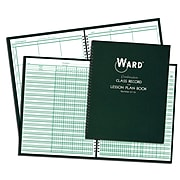 Hubbard Combination Class Record (6-7 Week Grading Periods) & Lesson Plan (6 Periods) Book, Pack of 3 (WAR6716)
