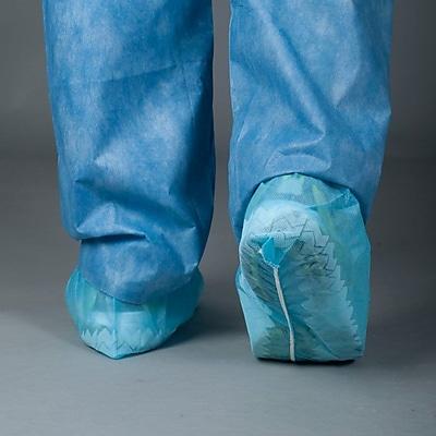 Tronex Spunbond Shoe Covers, Unisex, XL, Shoe Cover, Blue (4822B)