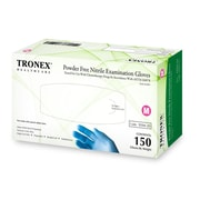 Tronex Nitrile Chemo-Rated Powder-Free Fingertip-Textured, Blue, Examination Gloves, Small (9394-10)