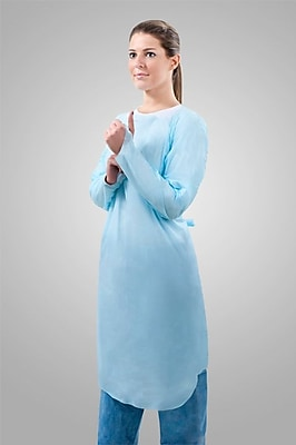 Tronex Over-the-Head Gowns Extra Large Gown Blue (6877BH-35)