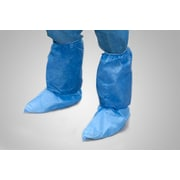 Tronex Boot Covers with Elastic Gather, Unisex, XL, Shoe Covers, Blue (4888B)