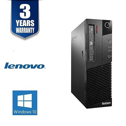 Lenovo M93P, Intel Core i5-4570 3.2Ghz, 16GB, 240GB SSD, WIFI, Win 10 Pro, Refurbished
