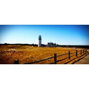 Diamond Decor Wall Art Highland Lighthouse Cape Cod MA 12 x 27 in. (JW1013CM)