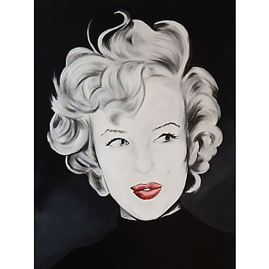 Diamond Decor Wall Art Kissy Face Marilyn 18 x 24 in. (EDC030CM)