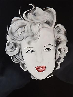 Diamond Decor Wall Art Kissy Face Marilyn 24 x 32 in. (EDC030CL)