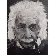 Diamond Decor Wall Art Albert Einstein 18 x 24 in. (EDC075CM)