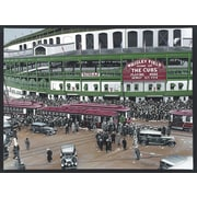 Diamond Decor  Wrigley Field Artwork Canvas 12 x 16 in. (DV2002CS)