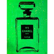 Diamond Decor Chanel Pop Art Green Chic 12 x 16 in. (PAQ018CS)