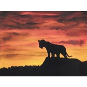Diamond Decor Wall Art Can't Wait to Be King 24 x 32 in. (EDC058CL)