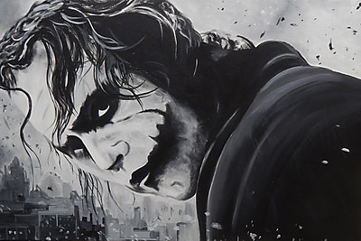 Diamond Decor Wall Art The Joker 24 x 36 in. (EDC016CL)