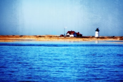 Diamond Decor Wall Art Race Point Lighthouse Provincetown MA 24 x 36 in. (JW1012CL)
