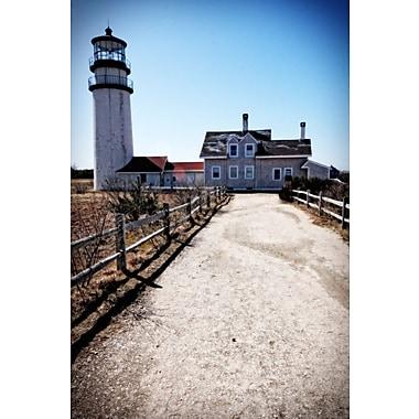 Diamond Decor Wall Art Highland Lighthouse Cape Cod MA 24 x 36 Portrait in. (JW1014CL)