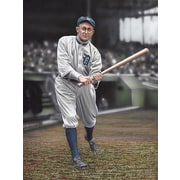 Diamond Decor Ty Cobb Batters On Deck Artwork Canvas 24 x 32 in. (DV2012CL)
