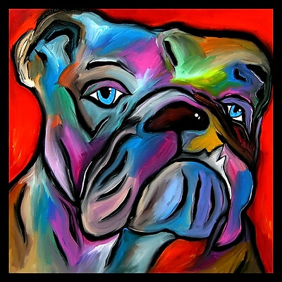 Diamond Decor Wall Art That's Bull Canvas 12 x 12 in. (FS011CS)