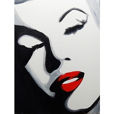 Diamond Decor Wall Art Pop Art Marilyn 18 x 24 in. (EDC066CM)
