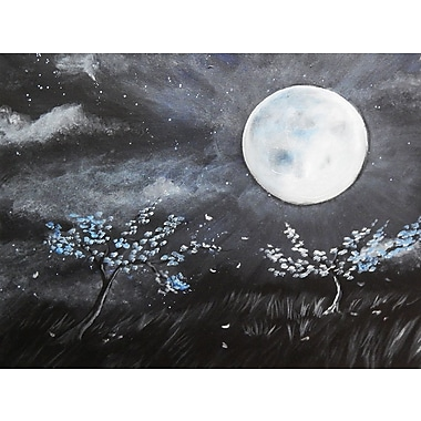 Diamond Decor Wall Art Blue Moon 12 x 16 in. (EDC081CS)