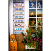 Diamond Decor Wall Art Bait Shop 24 x 36 in. (JW1025CL)