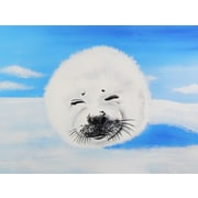 Diamond Decor Wall Art Harp Seal 18 x 24 in. (EDC011CM)
