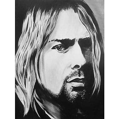 Diamond Decor Wall Art Kurt Cobain 12 x 16 in. (EDC001CS)