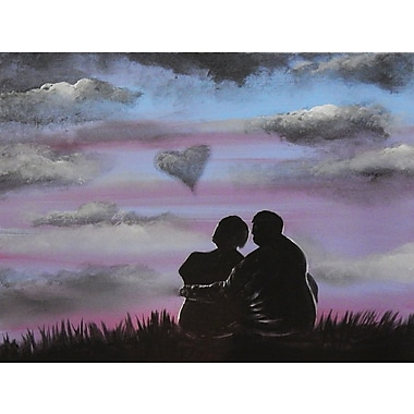 Diamond Decor Wall Art Love is in the air 24 x 32 in. (EDC053CL)