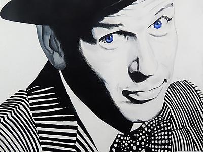 Diamond Decor Wall Art Frank Sinatra 12 x 16 in. (EDC006CS)